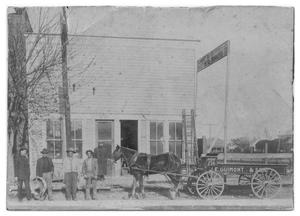 Primary view of object titled '[J. E. Guimont and Son Tin Shop]'.