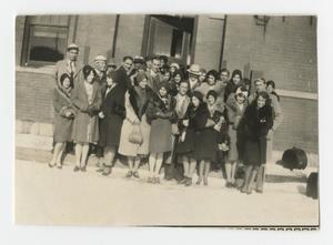 [Photograph of Group Outside]