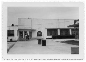 Primary view of object titled '[Entrance to Pleasure Pier Ballroom]'.