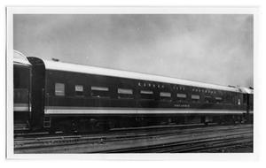 Primary view of object titled '[Kansas City Southern Passenger Car]'.