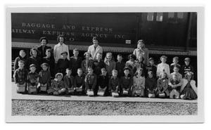 [Group of Student at Train Depot]