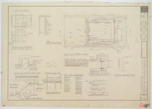 Primary view of object titled 'High School Gymnasium, Eldorado, Texas: Plot and Roof Plan'.