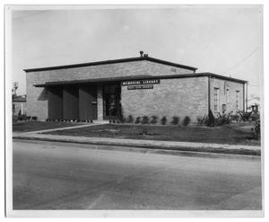 Primary view of object titled '[Port Arthur Public Library West Side Branch]'.