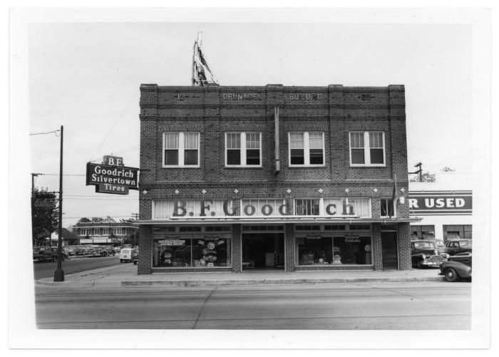 Goodrich Portal >> Goodrich Silvertown Tire Company The Portal To Texas History