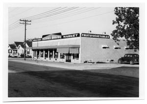 Primary view of object titled '[Plessala Brothers Number Two Grocery Store]'.