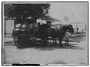Primary view of object titled '[American Brewing Association Wagon]'.