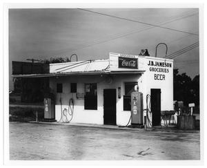 Primary view of object titled '[J. B. Jameson Groceries]'.