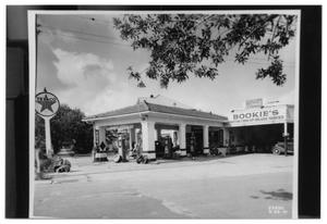 Primary view of object titled '[Bookie's Service Station]'.