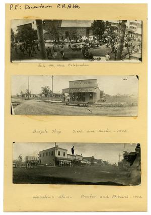 Primary view of object titled '[July Fourth Celebration]'.