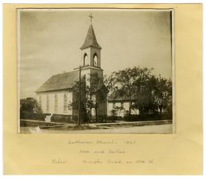 Primary view of object titled '[Lutheran Church]'.