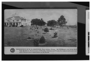 Primary view of object titled '[Residence of W. D. Griffing]'.