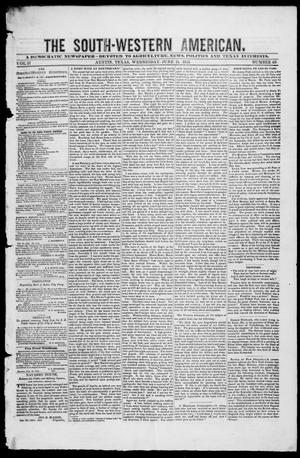 The South-Western American. (Austin, Tex.), Vol. 2, No. 49, Ed. 1, Wednesday, June 11, 1851