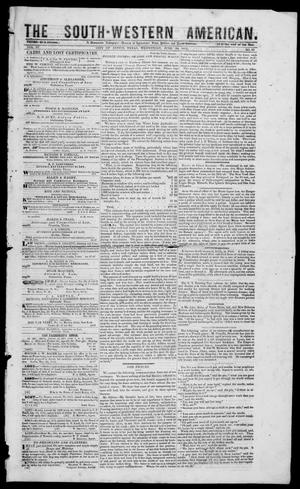 South-Western American (Austin, Tex.), Vol. 3, No. 55, Ed. 1, Wednesday, June 30, 1852