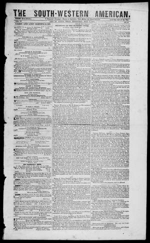 South-Western American (Austin, Tex.), Vol. 3, No. 56, Ed. 1, Wednesday, July 7, 1852