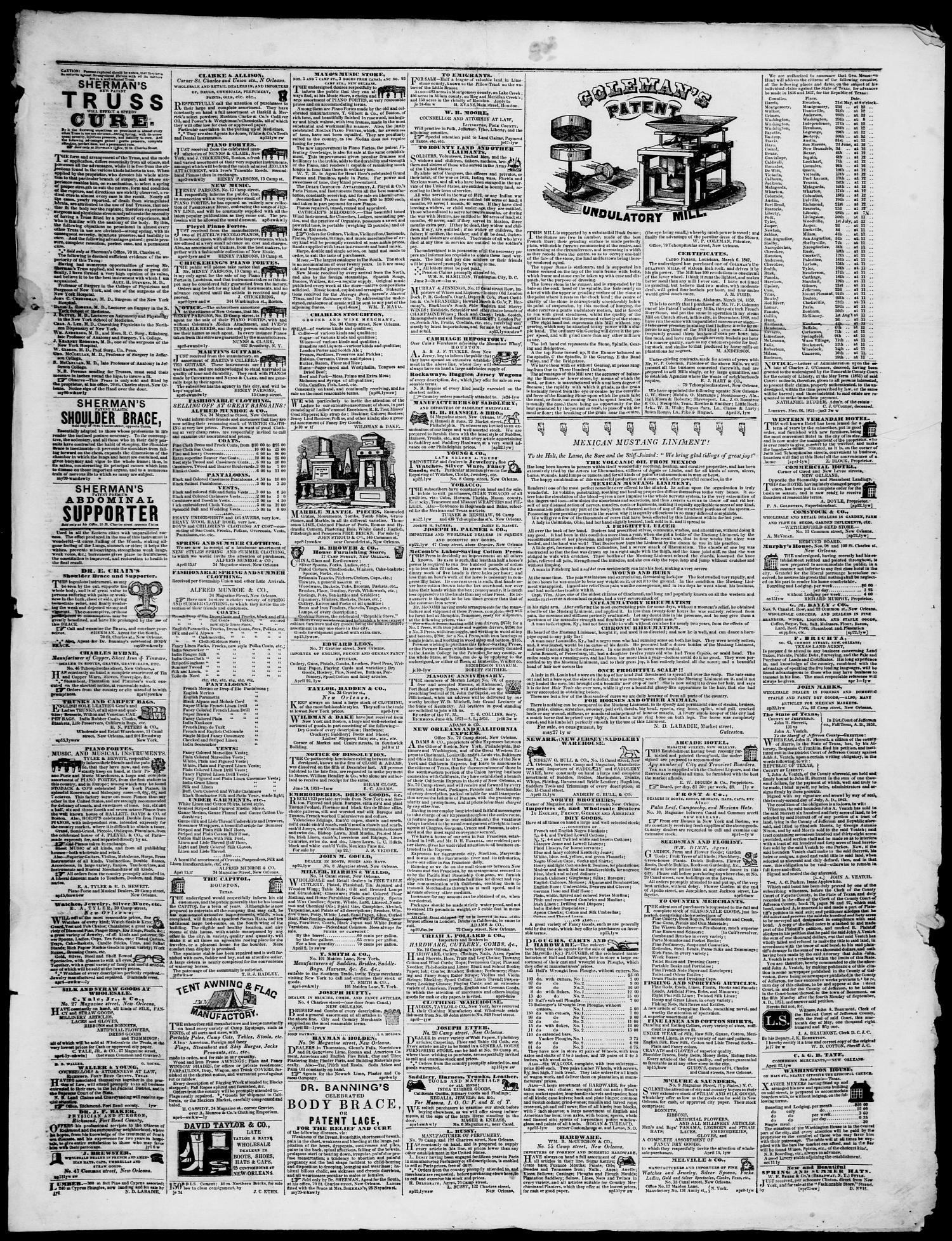 Galveston Weekly News (Galveston, Tex ), Vol  8, No  14, Ed