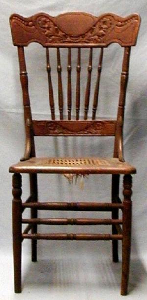 Cane Bottom Kitchen Chairs