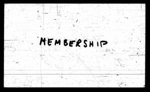 [Galveston Lutheran Church Records: Membership]
