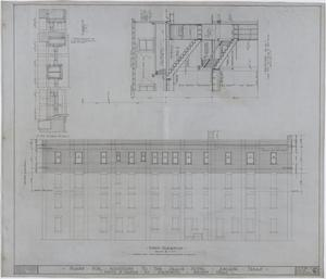 Primary view of object titled 'Grace Hotel Additions, Abilene, Texas: Details, Section, and Elevation'.