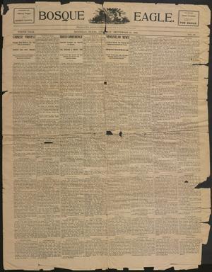 Bosque Eagle. (Meridian, Tex.), Vol. 10, No. 44, Ed. 1 Thursday, September 21, 1899