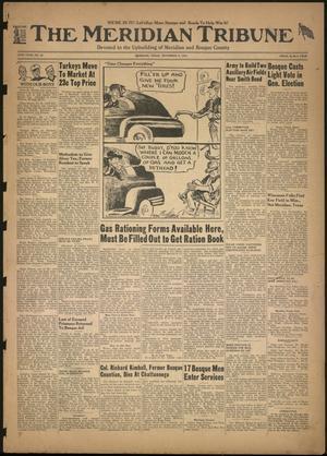The Meridian Tribune (Meridian, Tex.), Vol. 49, No. 25, Ed. 1 Friday, November 6, 1942