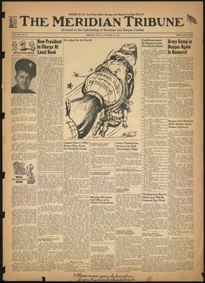 The Meridian Tribune (Meridian, Tex.), Vol. 49, No. 27, Ed. 1 Friday, November 20, 1942