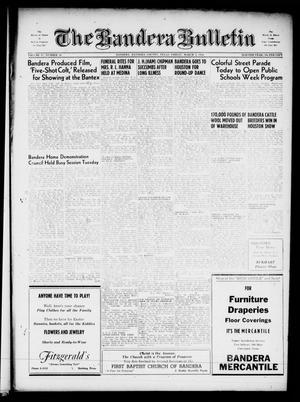 The Bandera Bulletin (Bandera, Tex.), Vol. 11, No. 36, Ed. 1 Friday, March 2, 1956