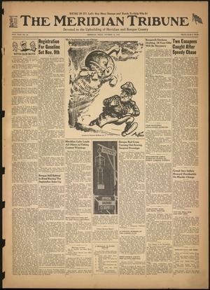 The Meridian Tribune (Meridian, Tex.), Vol. 49, No. 22, Ed. 1 Friday, October 16, 1942