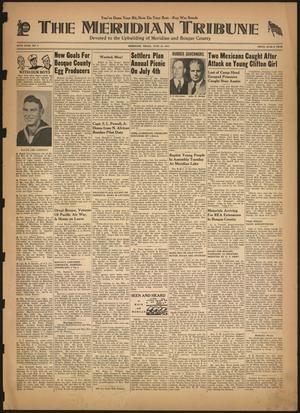 The Meridian Tribune (Meridian, Tex.), Vol. 50, No. 5, Ed. 1 Friday, June 18, 1943