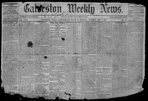 Primary view of object titled 'Galveston Weekly News (Galveston, Tex.), Vol. 18, No. 38, Ed. 1, Tuesday, December 3, 1861'.
