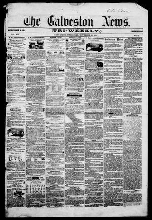 Primary view of The Galveston News (Galveston, Tex.), Vol. 14, No. 64, Ed. 1, Thursday, November 22, 1855