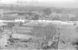 Primary view of object titled '[Flood of 1913 in Richmond]'.