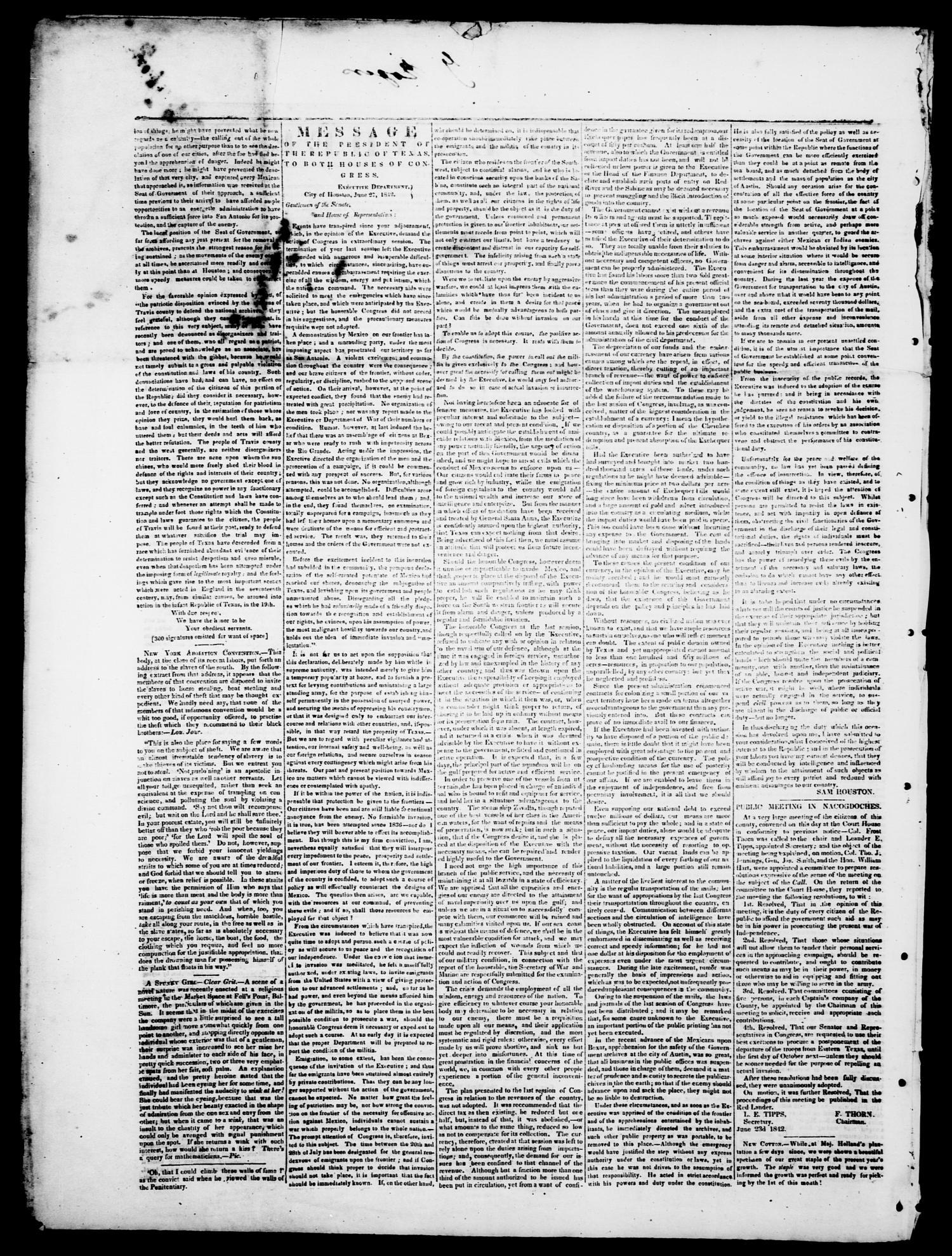 The Red-Lander  (San Augustine, Tex ), Vol  3, No  5, Ed  1