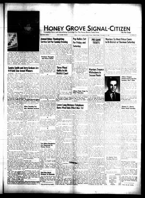 Honey Grove Signal-Citizen (Honey Grove, Tex.), Vol. 76, No. 45, Ed. 1 Friday, November 17, 1967
