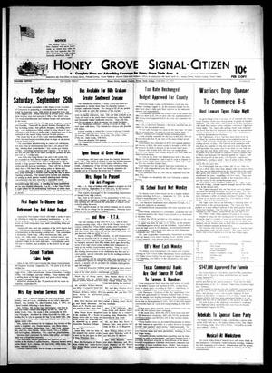 Primary view of object titled 'Honey Grove Signal-Citizen (Honey Grove, Tex.), Vol. 79, No. 34, Ed. 1 Friday, September 17, 1971'.