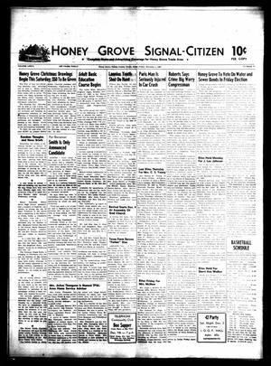 Honey Grove Signal-Citizen (Honey Grove, Tex.), Vol. 76, No. 47, Ed. 1 Friday, December 1, 1967