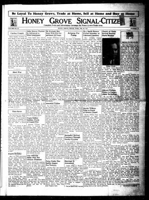 Honey Grove Signal-Citizen (Honey Grove, Tex.), Vol. 53, No. 25, Ed. 1 Friday, July 16, 1943