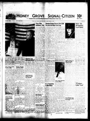 Honey Grove Signal-Citizen (Honey Grove, Tex.), Vol. 76, No. 46, Ed. 1 Friday, November 24, 1967