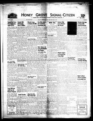 Honey Grove Signal-Citizen (Honey Grove, Tex.), Vol. 74, No. 11, Ed. 1 Friday, March 19, 1965
