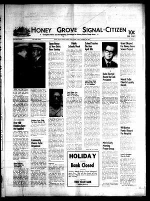 Honey Grove Signal-Citizen (Honey Grove, Tex.), Vol. 77, No. 7, Ed. 1 Friday, February 28, 1969