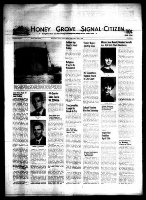 Honey Grove Signal-Citizen (Honey Grove, Tex.), Vol. 77, No. 12, Ed. 1 Friday, April 4, 1969
