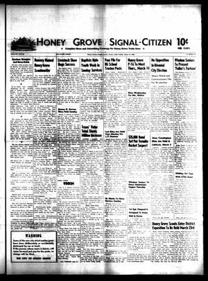 Honey Grove Signal-Citizen (Honey Grove, Tex.), Vol. 77, No. 10, Ed. 1 Friday, March 15, 1968