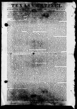 Texas Centinel. (Austin, Tex.), Vol. 2, No. 26, Ed. 1, Thursday, June 3, 1841