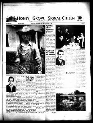 Honey Grove Signal-Citizen (Honey Grove, Tex.), Vol. 77, No. 31, Ed. 1 Friday, August 16, 1968