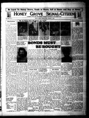 Honey Grove Signal-Citizen (Honey Grove, Tex.), Vol. 54, No. 2, Ed. 1 Friday, February 4, 1944