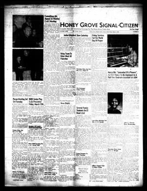 Primary view of object titled 'Honey Grove Signal-Citizen (Honey Grove, Tex.), Vol. 74, No. 9, Ed. 1 Friday, March 5, 1965'.
