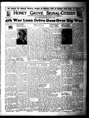 Honey Grove Signal-Citizen (Honey Grove, Tex.), Vol. 54, No. [4], Ed. 1 Friday, February 18, 1944