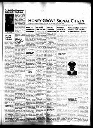 Honey Grove Signal-Citizen (Honey Grove, Tex.), Vol. 76, No. 42, Ed. 1 Friday, October 27, 1967