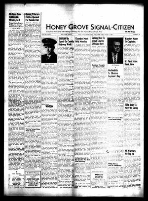 Primary view of object titled 'Honey Grove Signal-Citizen (Honey Grove, Tex.), Vol. 75, No. 39, Ed. 1 Friday, October 7, 1966'.