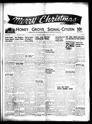 Honey Grove Signal-Citizen (Honey Grove, Tex.), Vol. 76, No. 50, Ed. 1 Friday, December 22, 1967