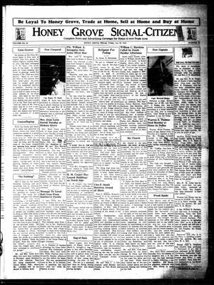 Honey Grove Signal-Citizen (Honey Grove, Tex.), Vol. 53, No. 26, Ed. 1 Friday, July 23, 1943